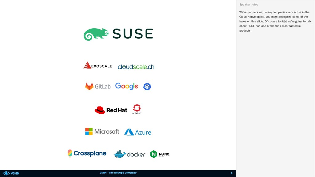 VSHN – The DevOps Company We're partners with m...