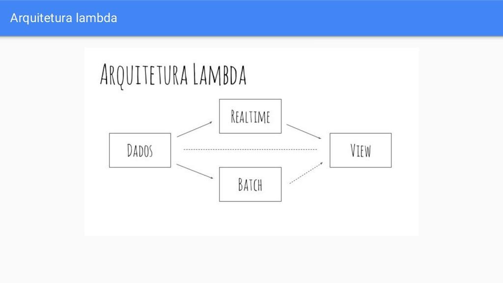 Arquitetura lambda