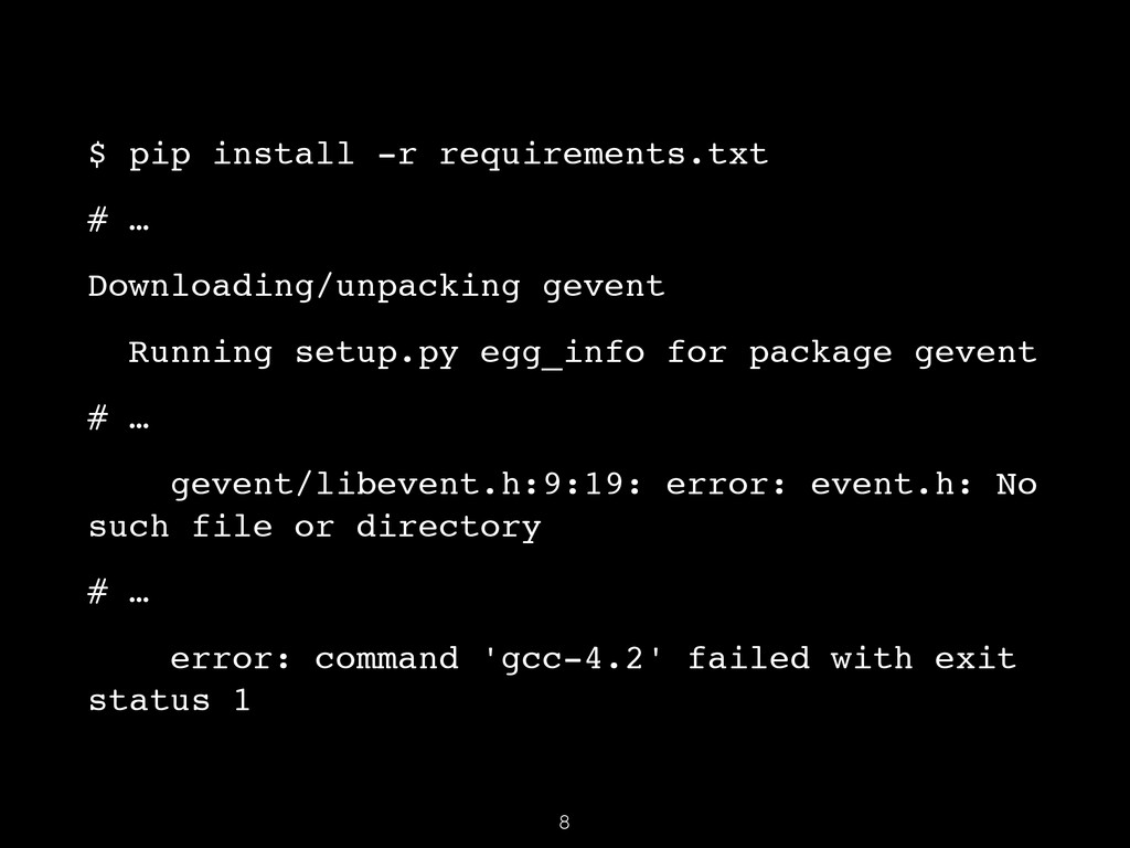 $ pip install -r requirements.txt! # …! Downloa...