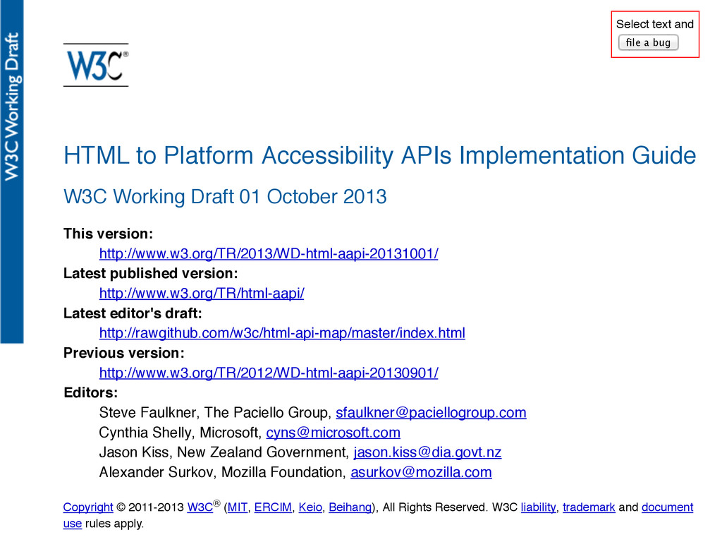 GDS @edds HTML to Platform Accessibility APIs I...