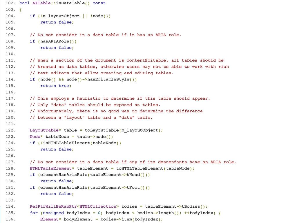 GDS @edds 102. bool AXTable::isDataTable() cons...