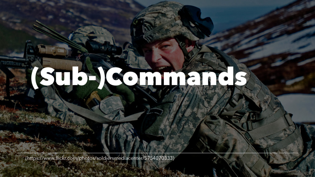 (Sub-)Commands (https://www.flickr.com/photos/so...