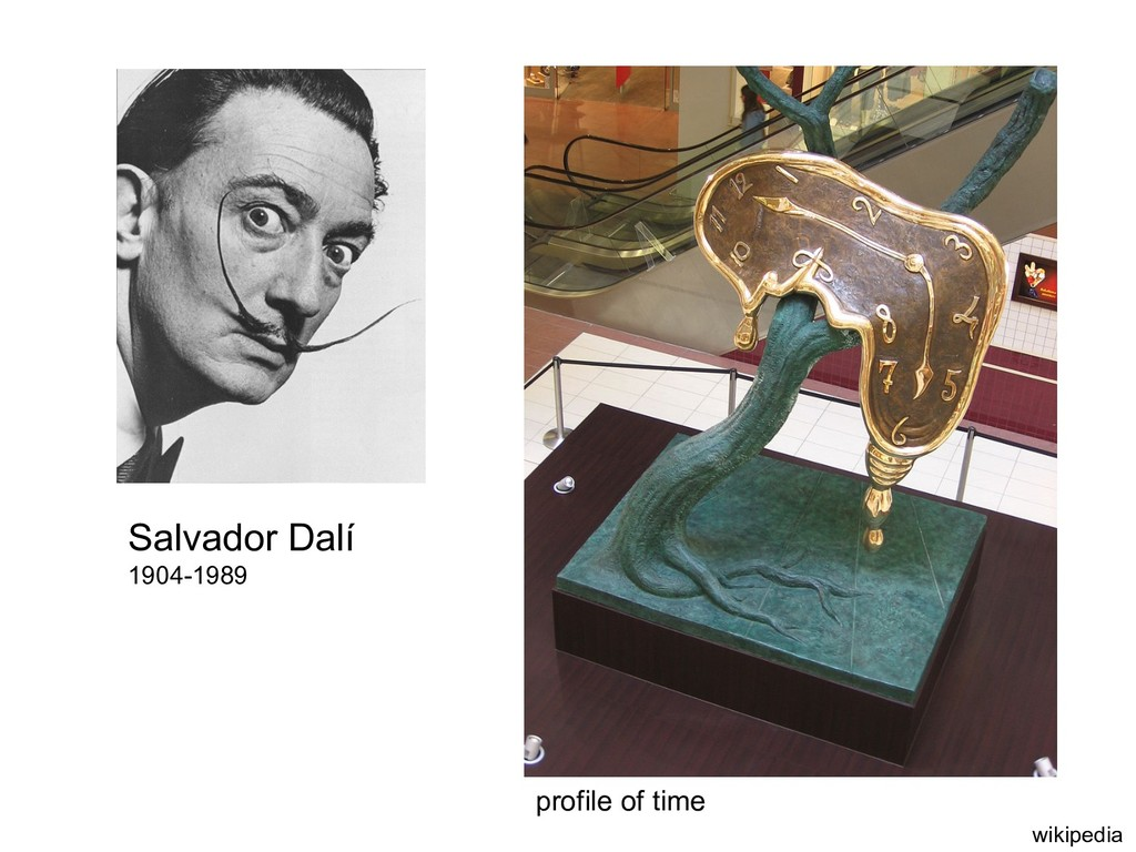 Salvador Dalí 1904-1989 profile of time wikiped...