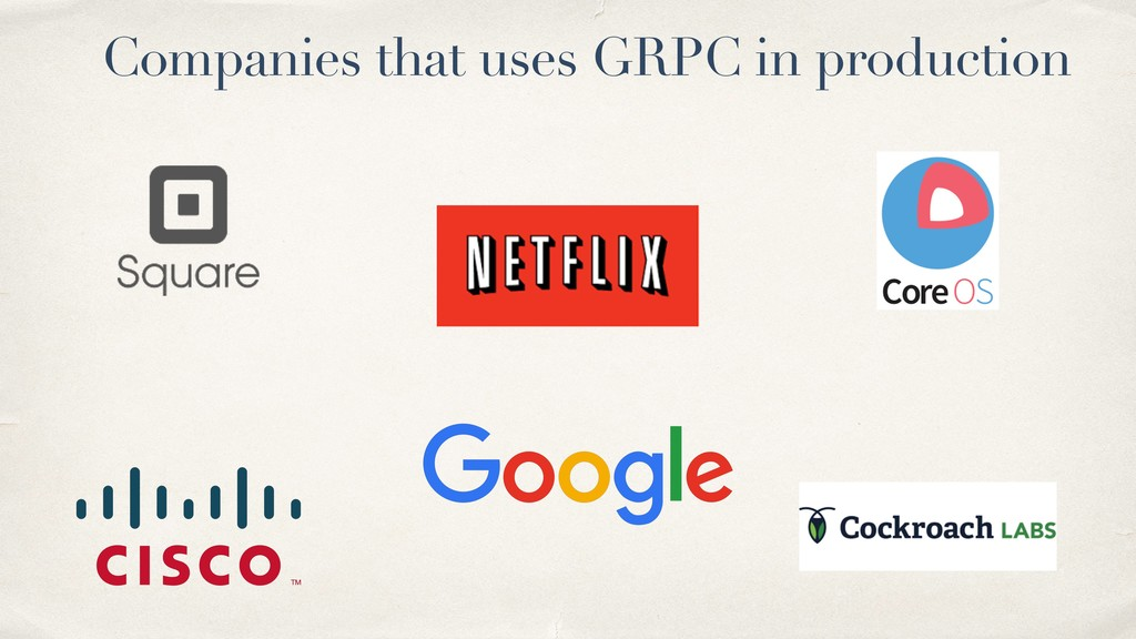Companies that uses GRPC in production