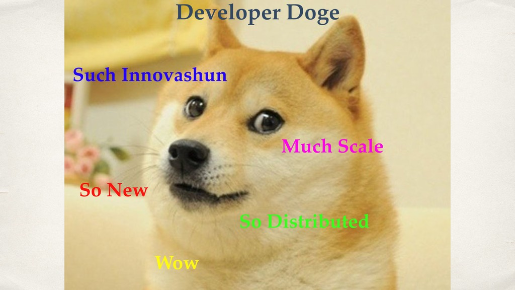 Such Innovashun Much Scale So New Wow So Distri...