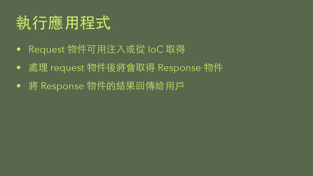 • Request  IoC  •   request ...