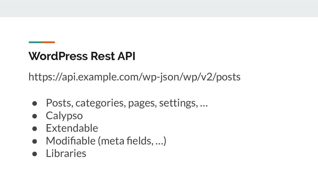 WordPress Rest API https://api.example.com/wp-j...