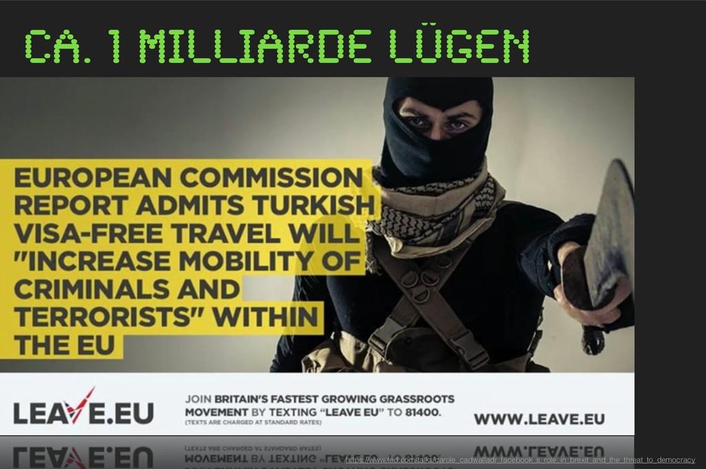 ca. 1 Milliarde Lügen https://www.ted.com/talks...
