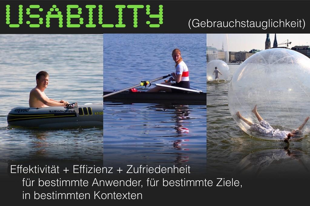 Effektivität + Effizienz + Zufriedenheit für be...