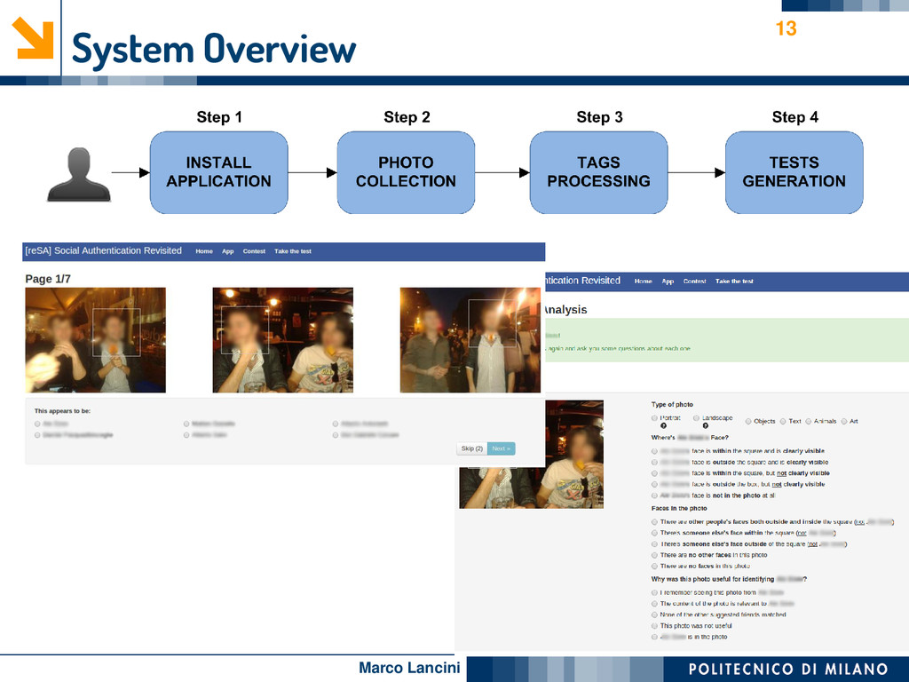 Marco Lancini System Overview 13