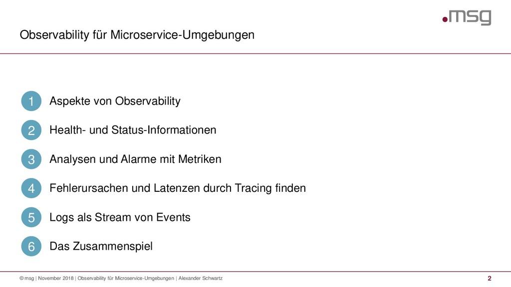 Observability für Microservice-Umgebungen 2 © m...