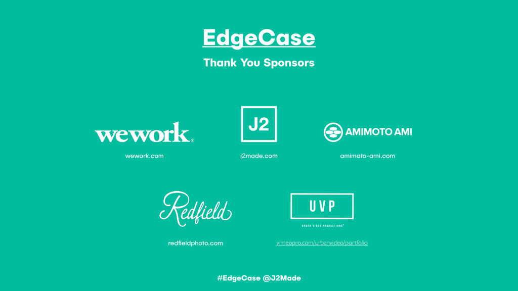 EdgeCase Thank You Sponsors redfieldphoto.com j2...