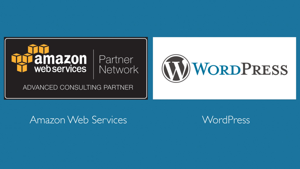 WordPress Amazon Web Services
