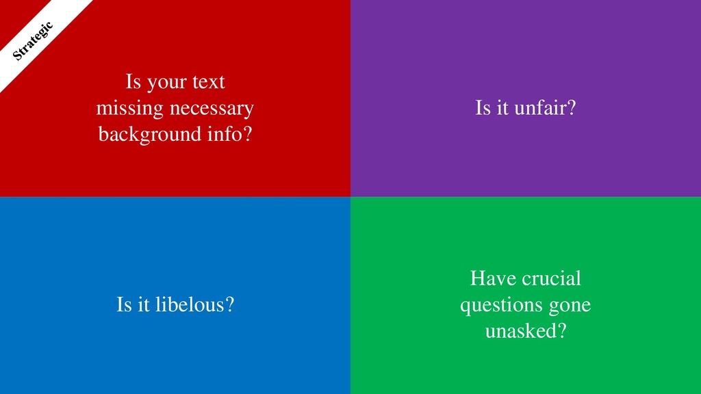 Is your text missing necessary background info?...