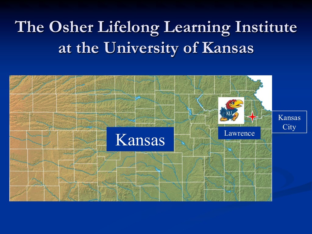 The Osher Lifelong Learning Institute at the Un...