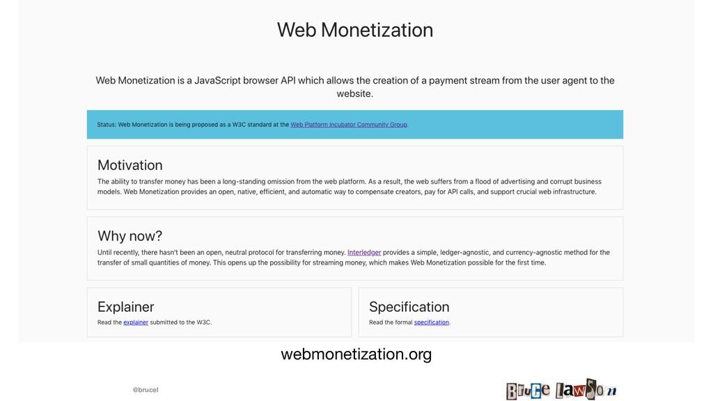 @brucel webmonetization.org