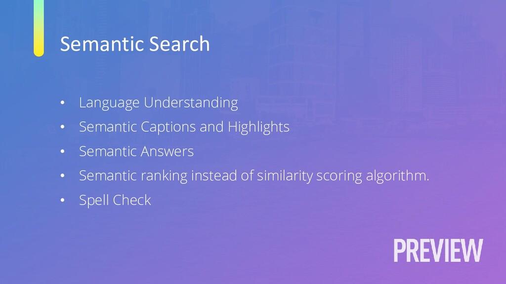Semantic Search • Language Understanding • Sema...