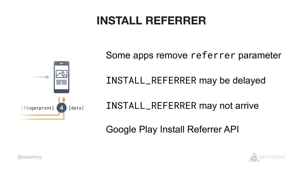 @zasadnyy INSTALL REFERRER Some apps remove ref...