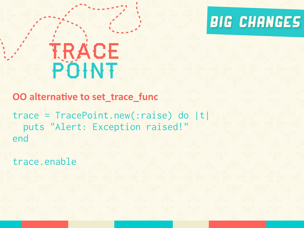 Trace Point Big Changes OO	