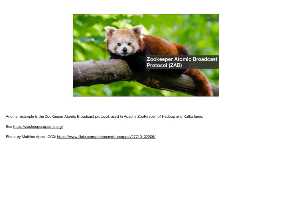 Zookeeper Atomic Broadcast Protocol (ZAB) Anoth...