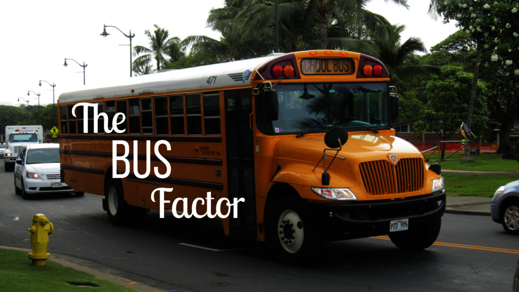 The bus Factor