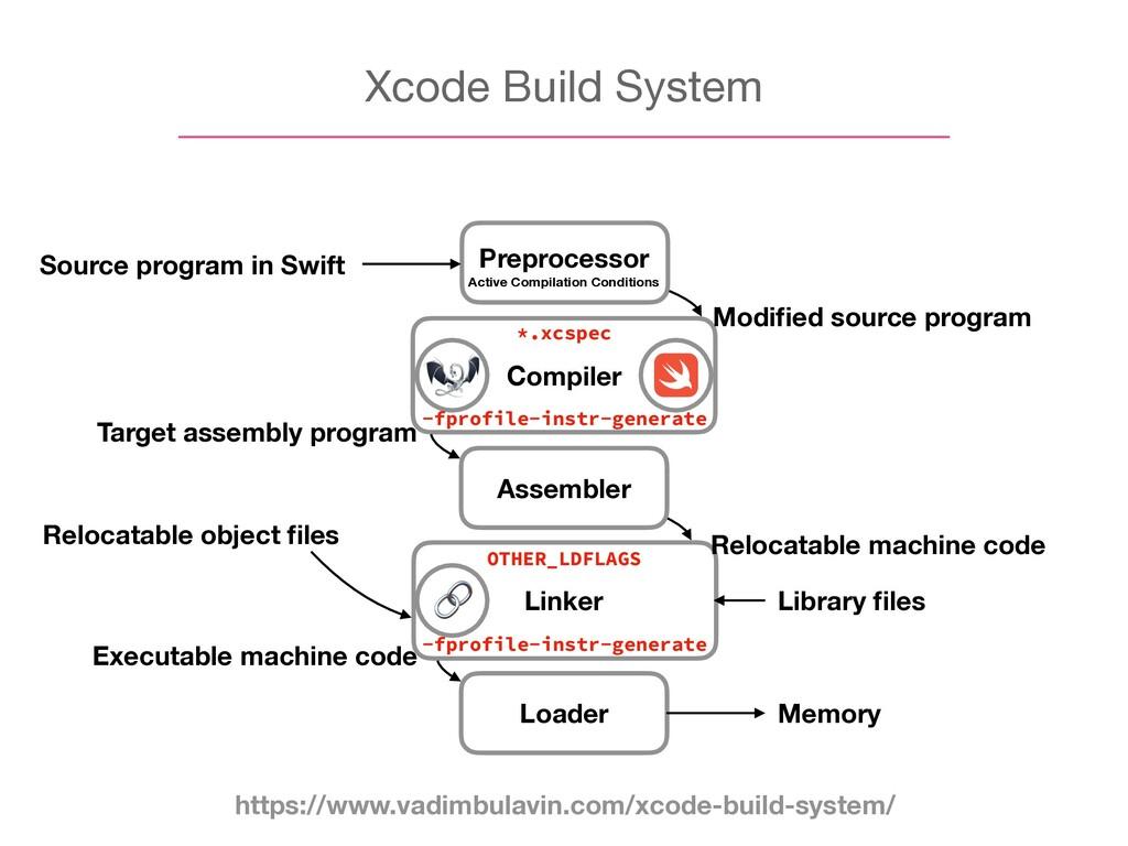 Xcode Build System Compiler Assembler Linker Lo...
