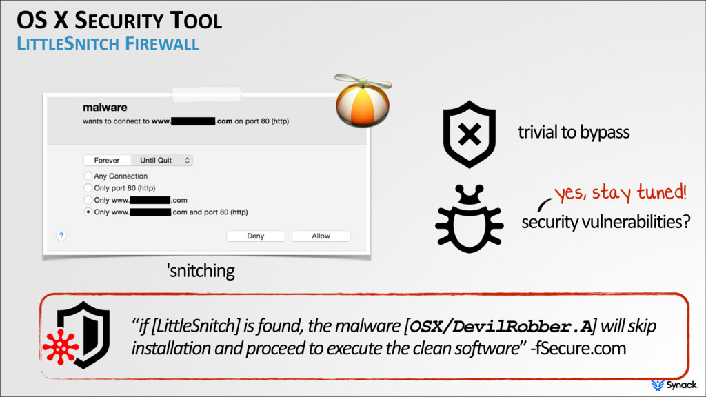 "OS X SECURITY TOOL LITTLESNITCH FIREWALL ""if [L..."