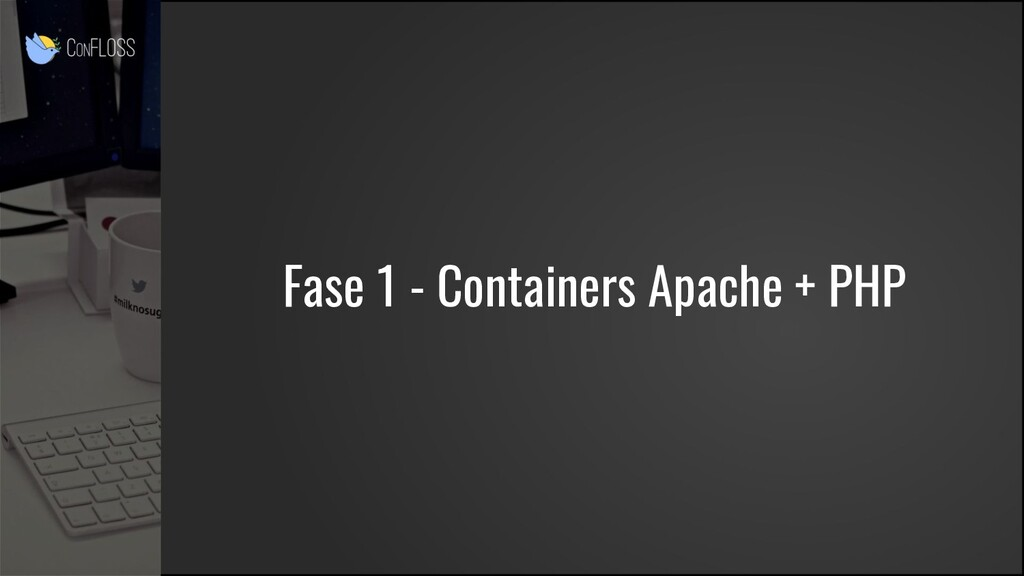 Fase 1 - Containers Apache + PHP