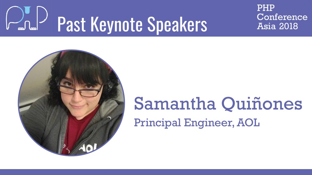 Past Keynote Speakers Samantha Quiñones Princip...