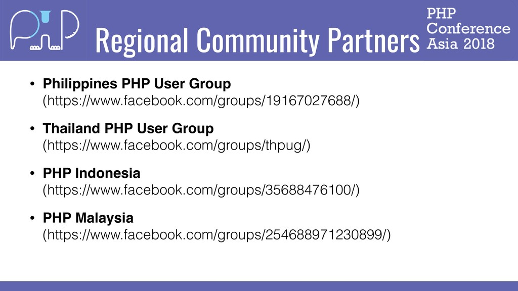Regional Community Partners • Philippines PHP U...