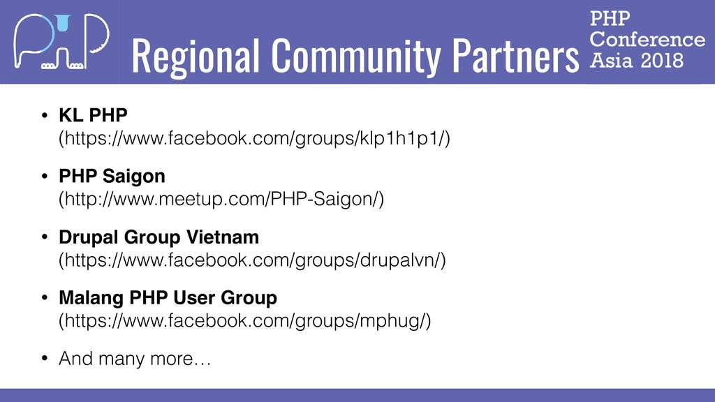 Regional Community Partners • KL PHP (https://...