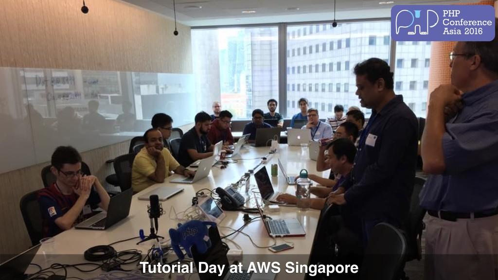 Tutorial Day at AWS Singapore