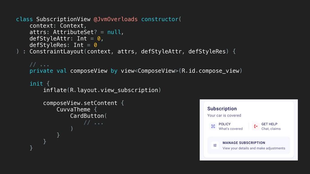 class SubscriptionView @JvmOverloads constructo...