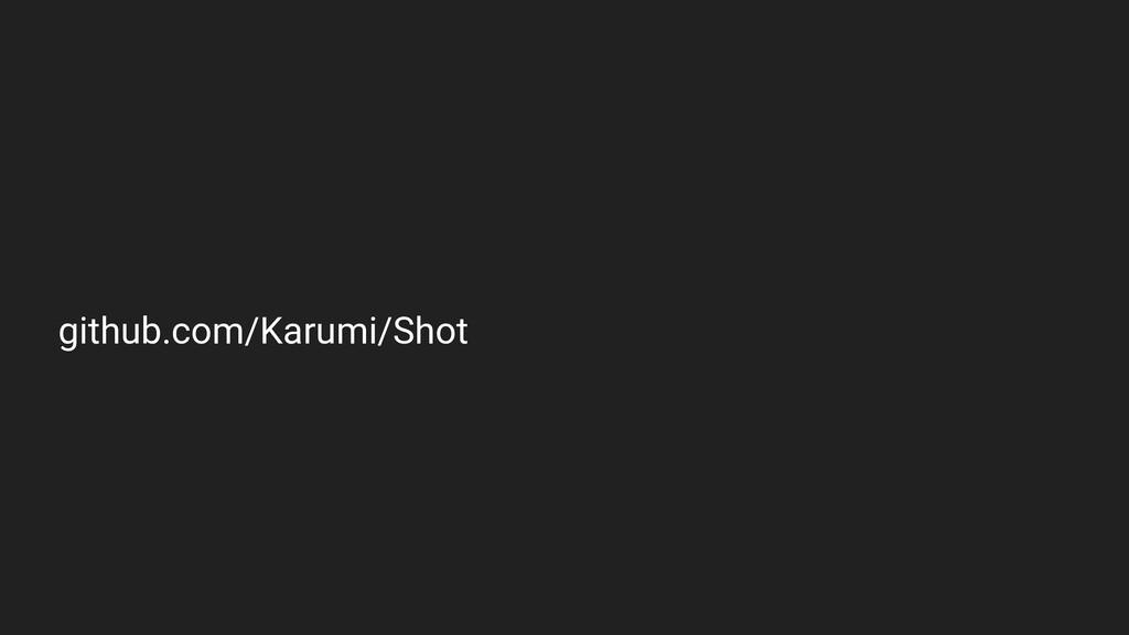 github.com/Karumi/Shot