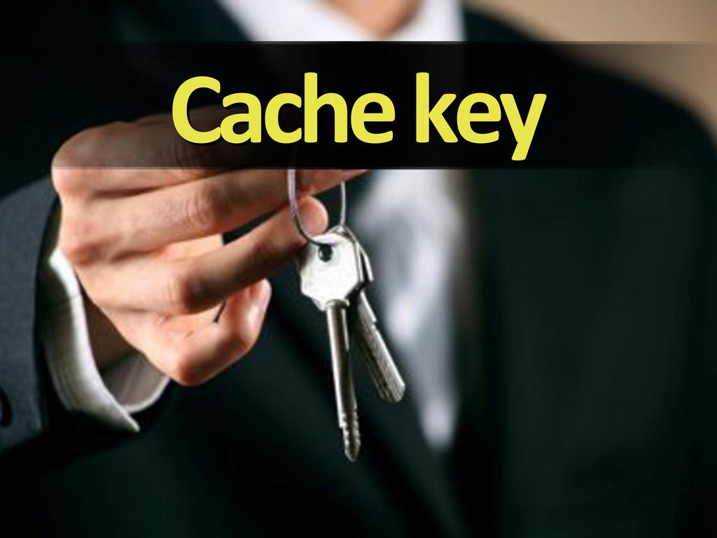 Cache'key