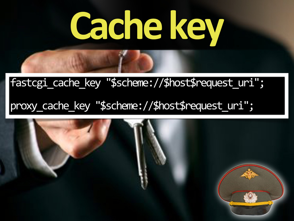 "Cache'key fastcgi_cache_key%""$scheme://$host$re..."