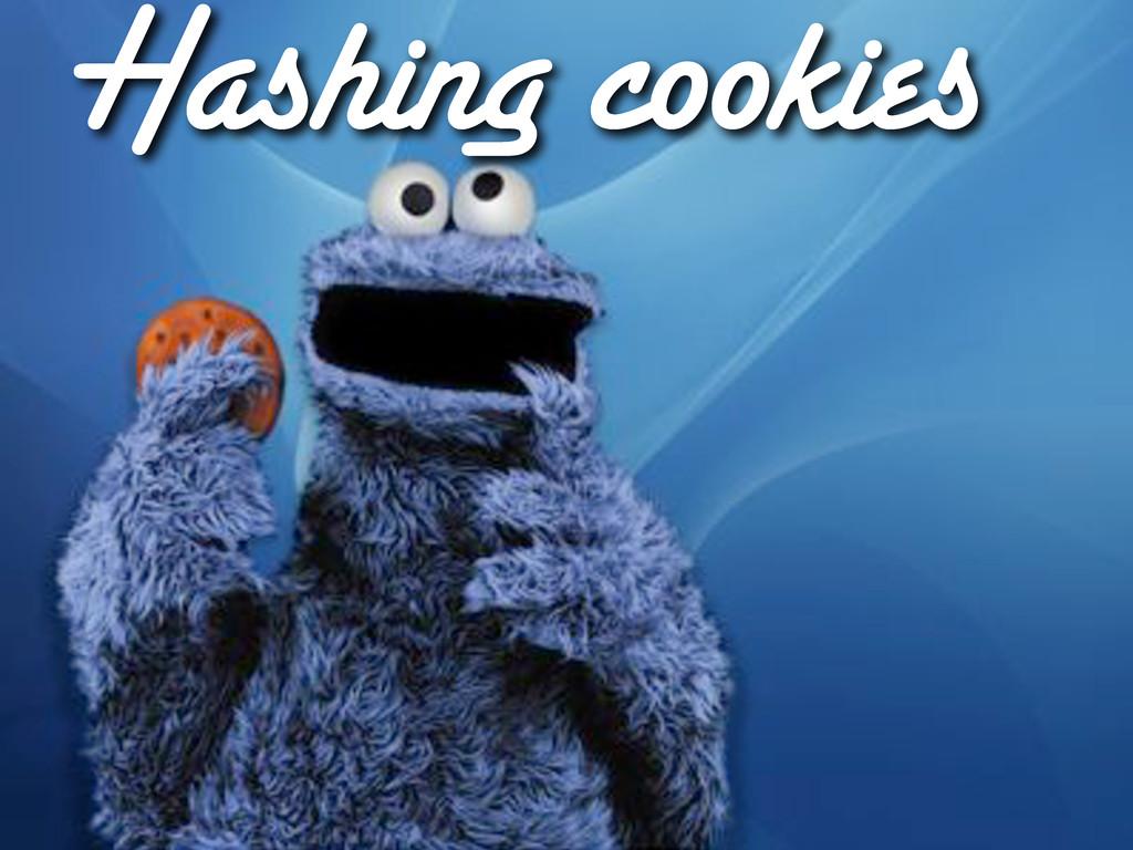 Hashing cookies