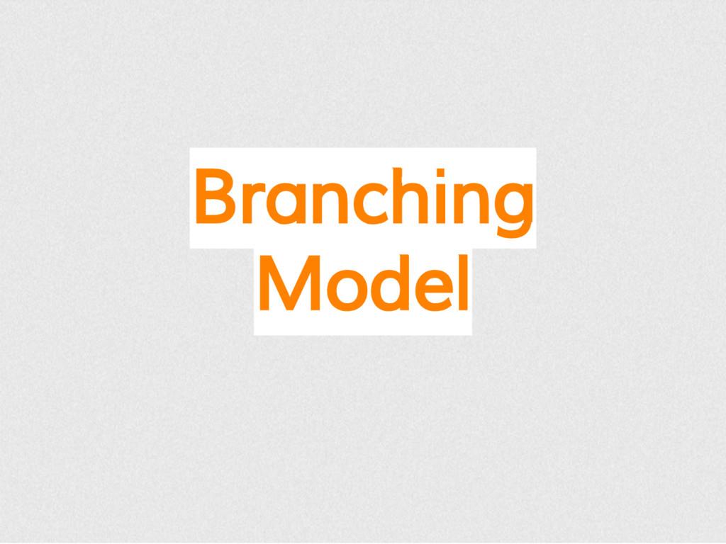 Branching Model