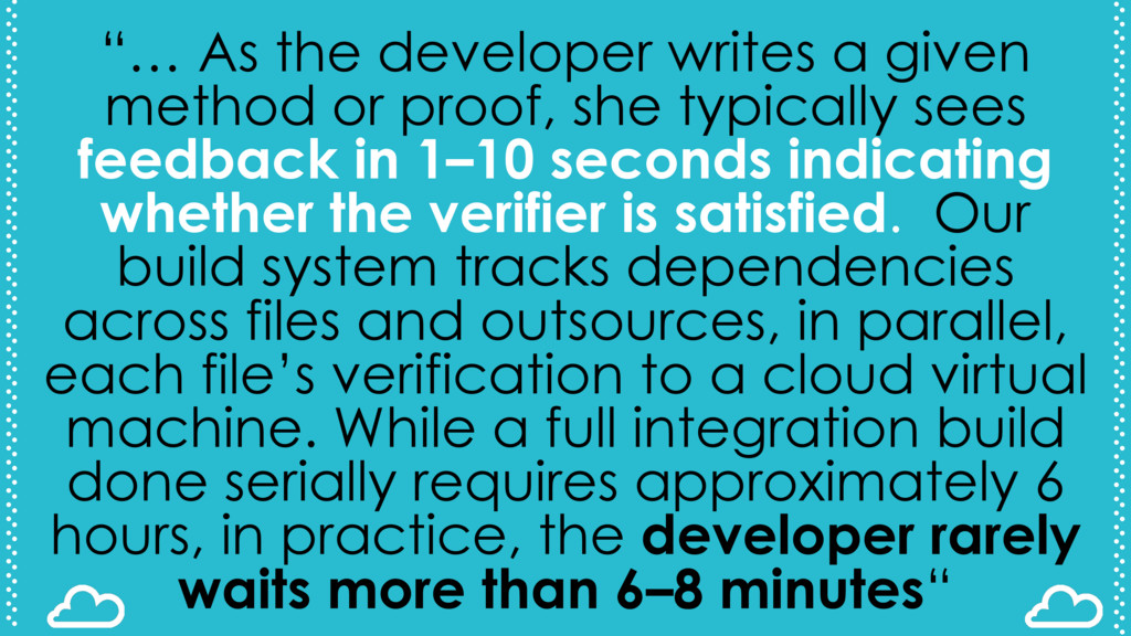 """… As the developer writes a given method or pr..."