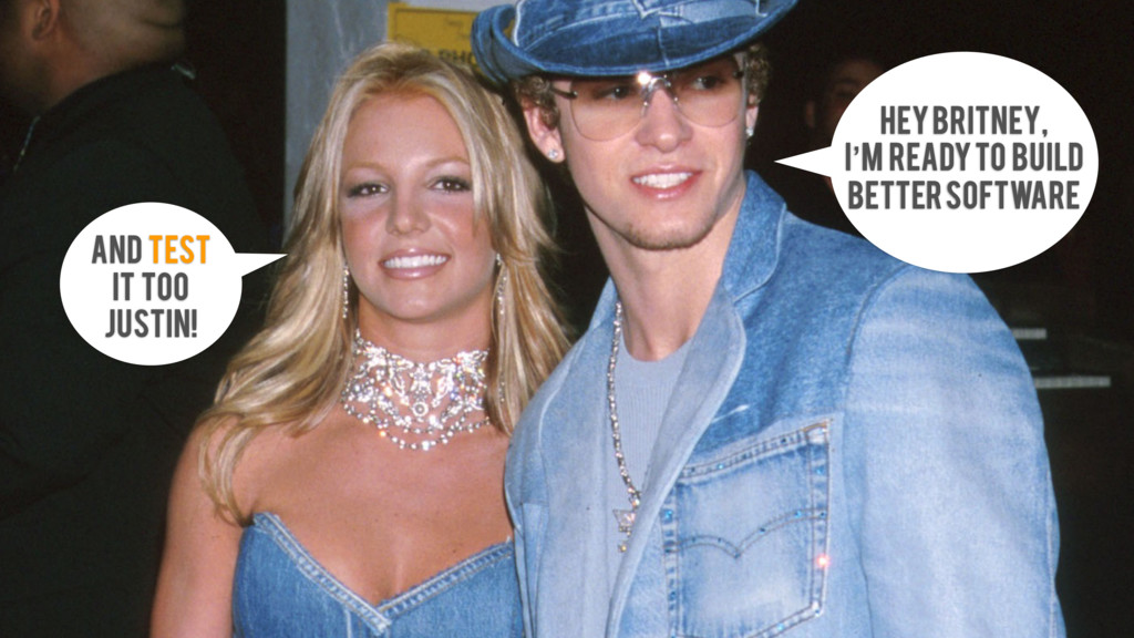 Hey Britney, i'm ready to build better software...