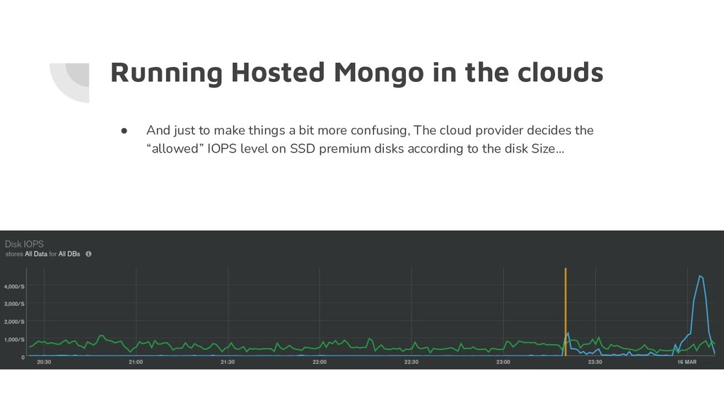 Running Hosted Mongo in the clouds ● And just t...