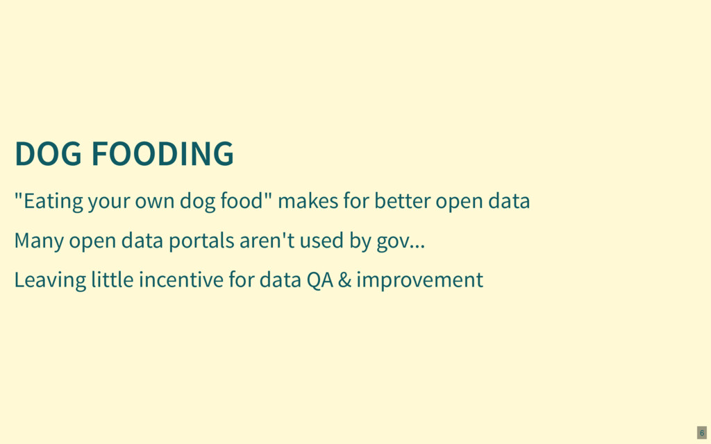 "DOG FOODING ""Eating your own dog food"" makes fo..."