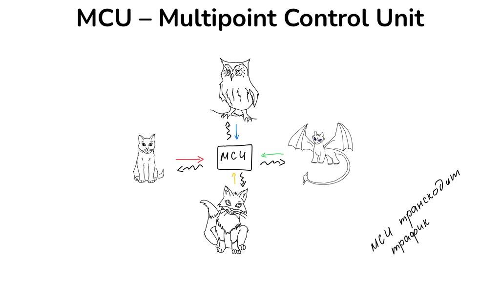 MCU – Multipoint Control Unit