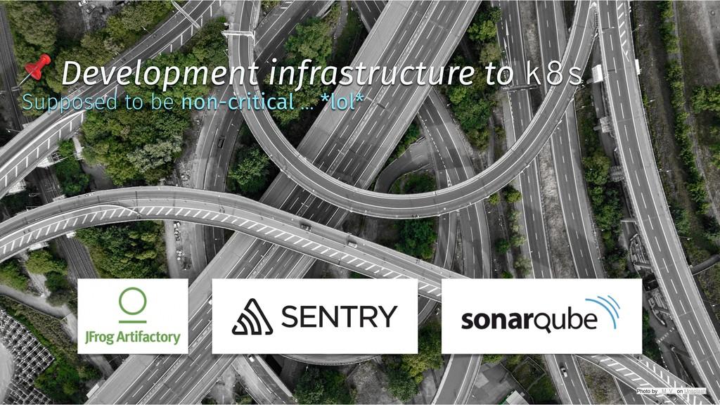 ✨ @tboeghk ✨  Development infrastructure to k8s...