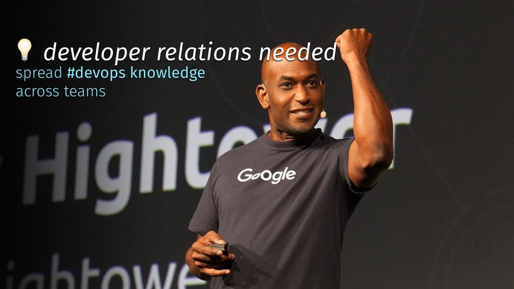 ✨ @tboeghk ✨  developer relations needed spread...