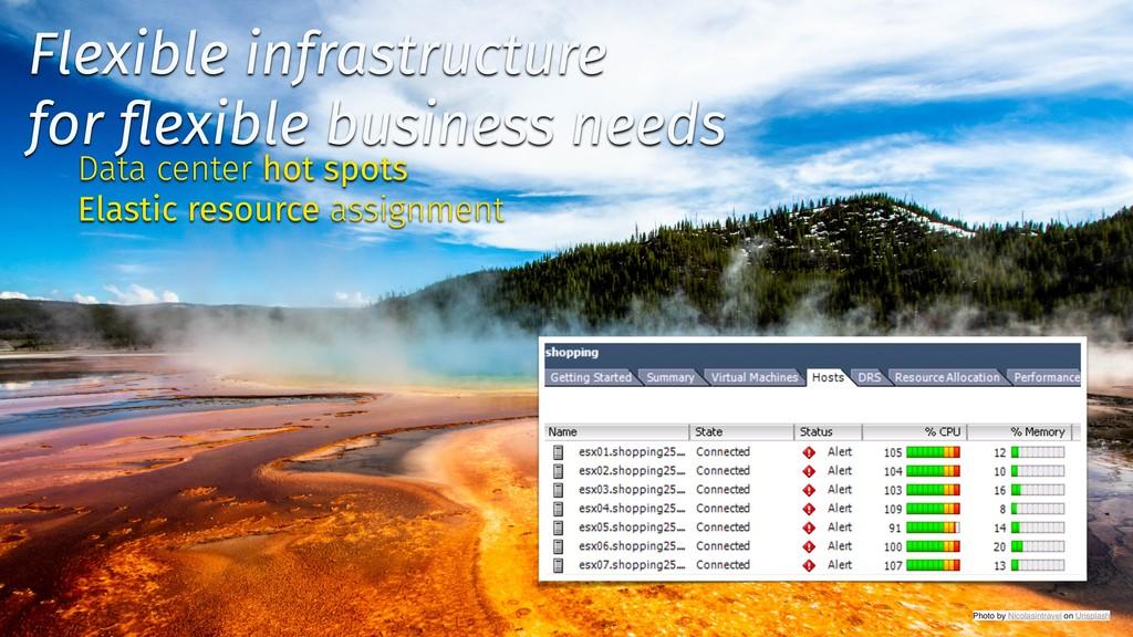 ✨ @tboeghk ✨ Flexible infrastructure for flexibl...