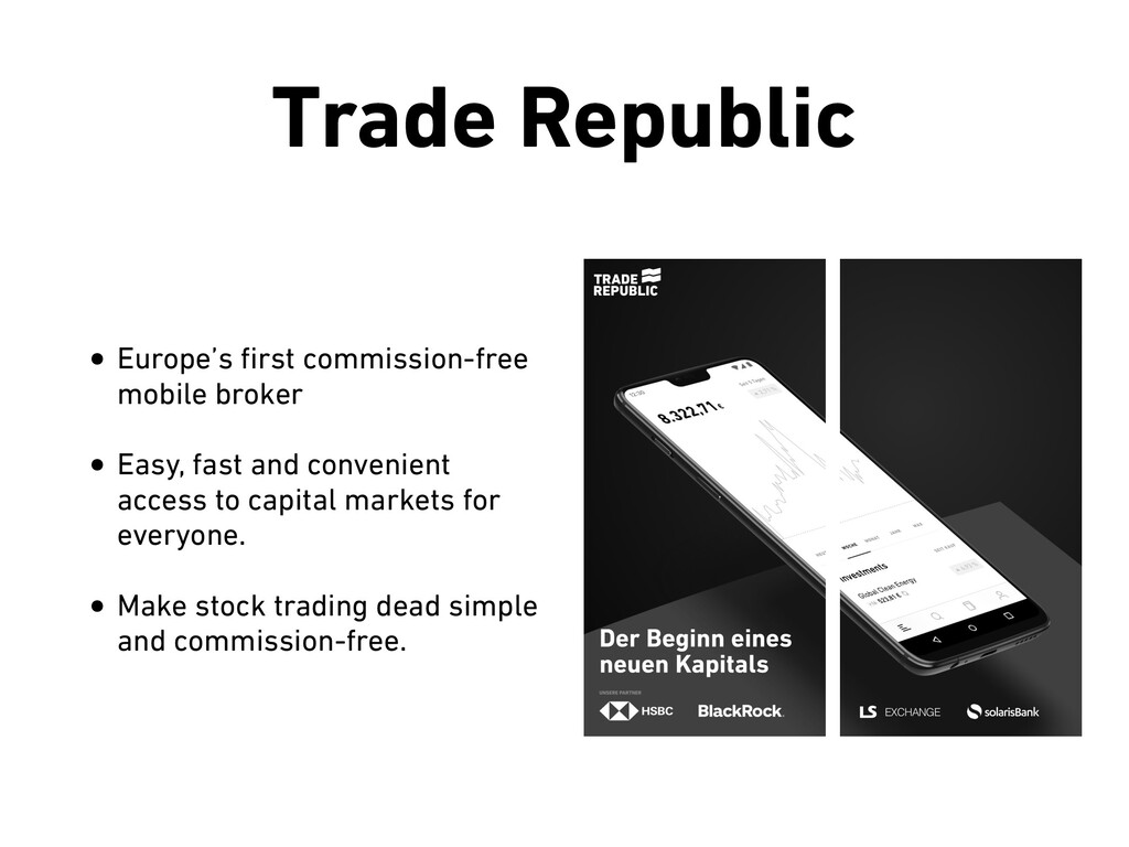 Trade Republic • Europe's first commission-free ...