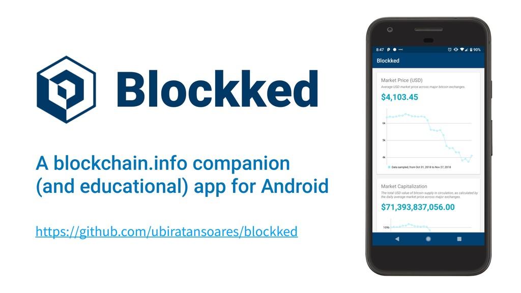 https://github.com/ubiratansoares/blockked Bloc...