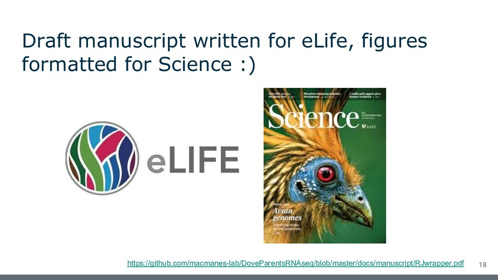 Draft manuscript written for eLife, figures for...