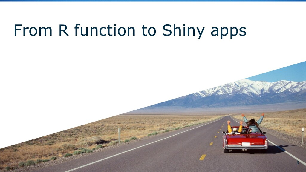 From R function to Shiny apps 3